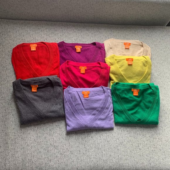 Joe Fresh Sweaters, S, $5 each with ANY purchase